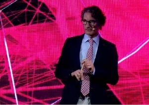 El Dr. Jordi Monés, a la presentació del FCB Innovation Hub